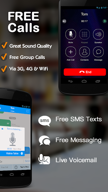 Dingtone - WiFi Calling & Text - Screenshot - 1