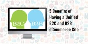 5 Benefits of Having a Unified B2C and B2B eCommerce Site